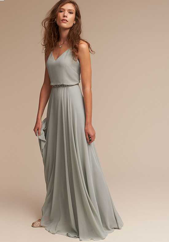 BHLDN (Bridesmaids) Inesse_Chiffon V-Neck Bridesmaid Dress