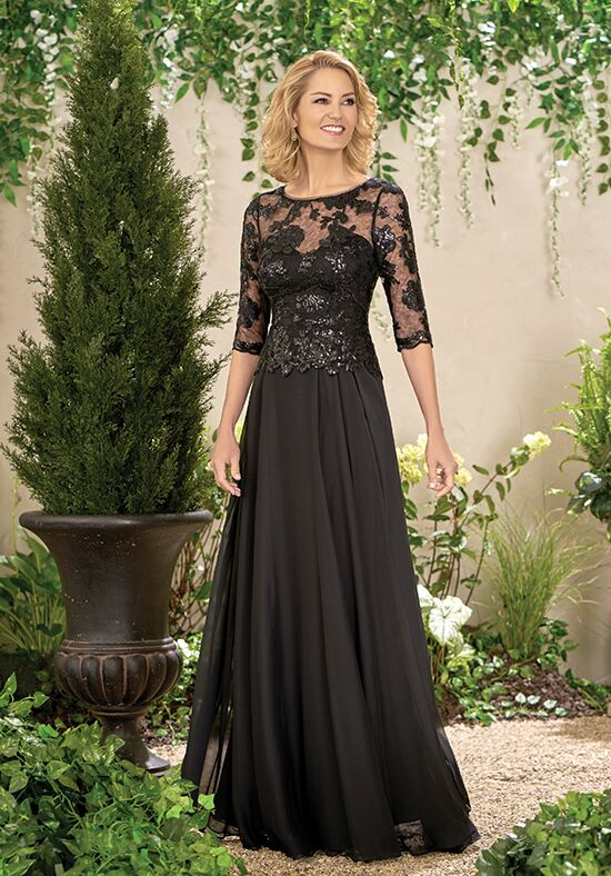 Jade J195014 Black Mother Of The Bride Dress
