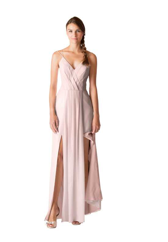 Bari Jay Bridesmaids BC-1707 V-Neck Bridesmaid Dress