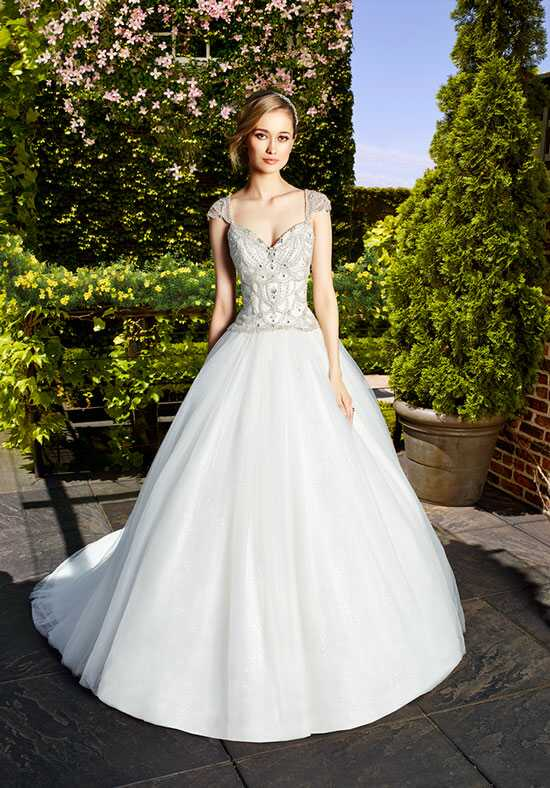 Moonlight Couture H1328 Ball Gown Wedding Dress