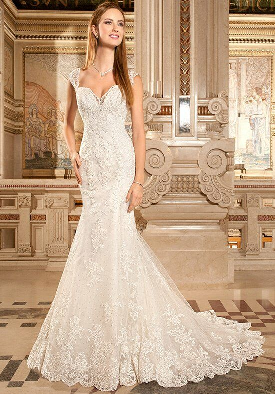 Demetrios 1484 Mermaid Wedding Dress