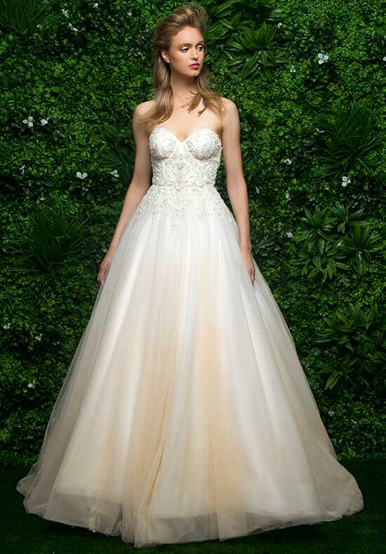 Enaura Bridal Couture ES667 Ball Gown Wedding Dress