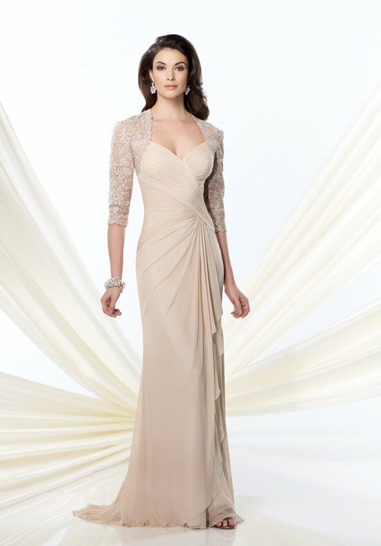 Montage by Mon Cheri 214943 Ivory Mother Of The Bride Dress