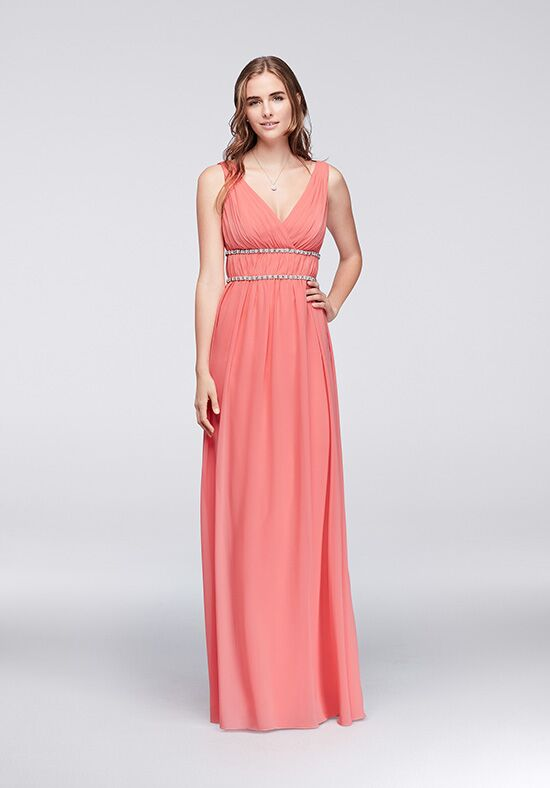 Wonder by Jenny Packham Bridesmaids Wonder by Jenny Packham Style JP2917122 V-Neck Bridesmaid Dress
