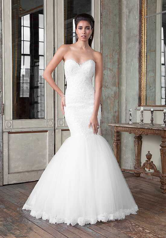 Justin Alexander Signature 9814 Mermaid Wedding Dress