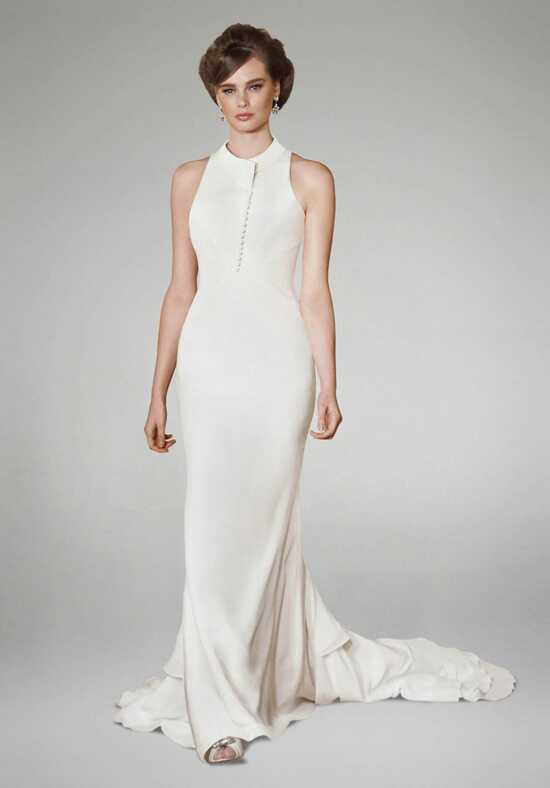 Matthew Christopher Jolie Sheath Wedding Dress