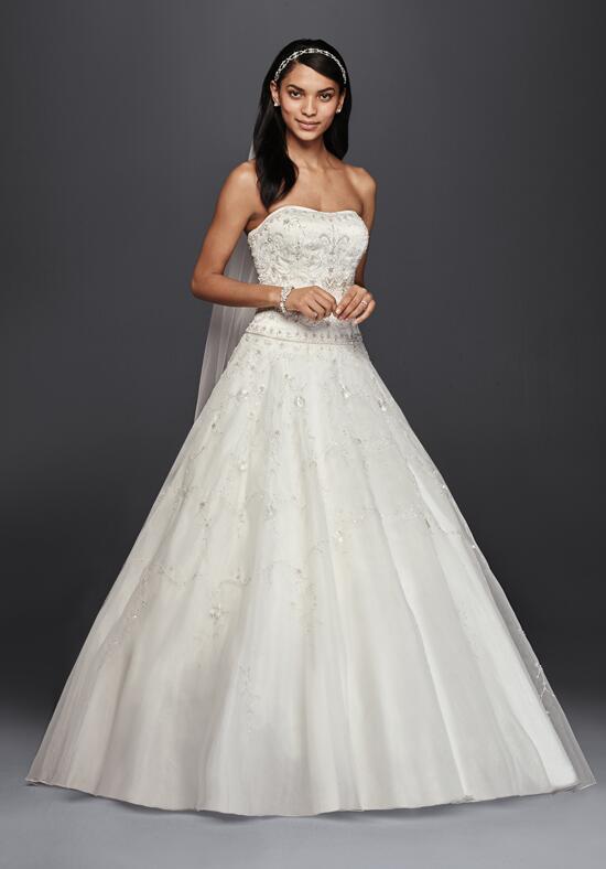 Oleg cassini at david 39 s bridal oleg cassini style ct258 for David s bridal princess wedding dresses