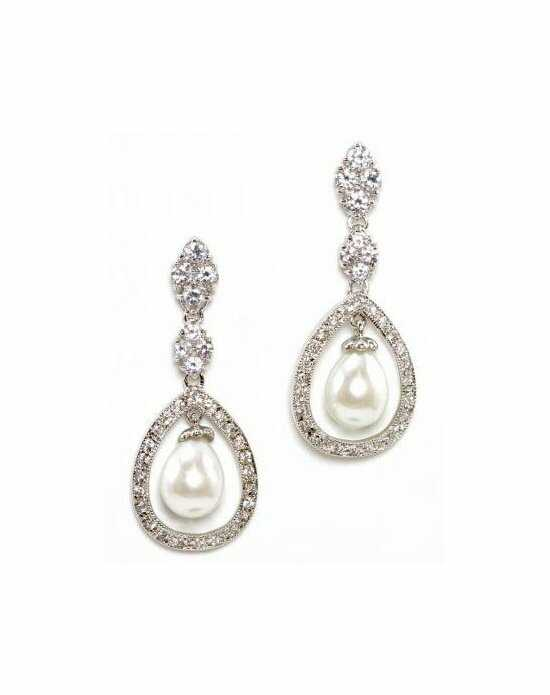 Anna Bellagio DONATELLA FRESHWATER PEARL AND CRYSTAL EARRINGS Wedding Earrings photo