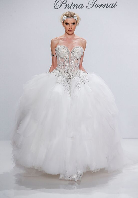 Pnina Tornai for Kleinfeld 4538 Ball Gown Wedding Dress