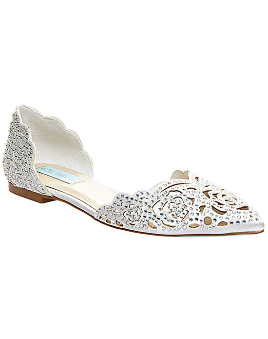 Blue by Betsey Johnson SB-LUCY-ivory Wedding Shoes - The Knot