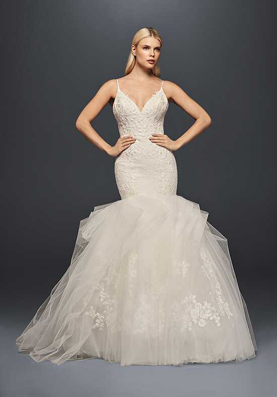 Truly Zac Posen at David's Bridal Truly Zac Posen Style ZP341708 Mermaid Wedding Dress