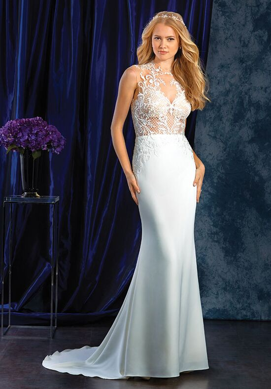 Alfred Angelo Sapphire Bridal Collection 402 Sheath Wedding Dress