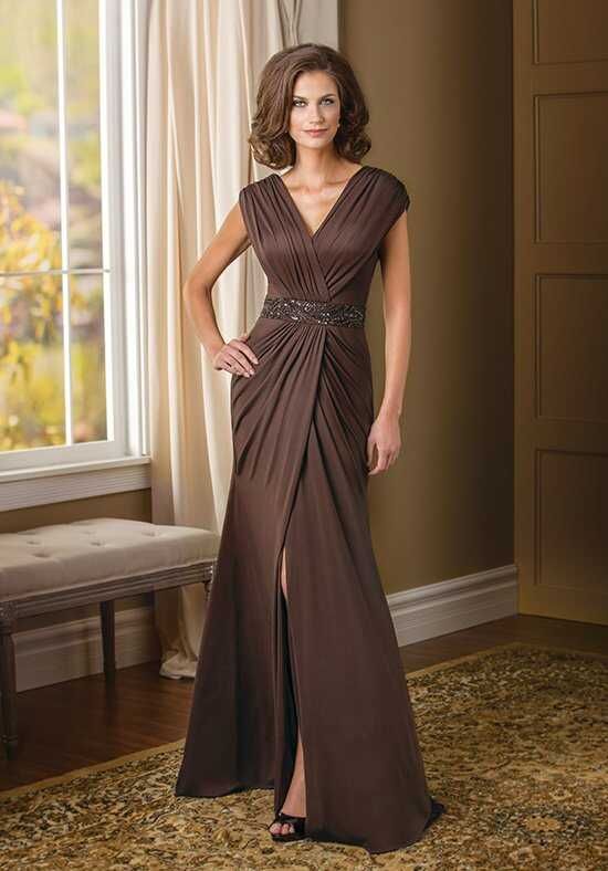 Jade Couture K178017 Brown Mother Of The Bride Dress