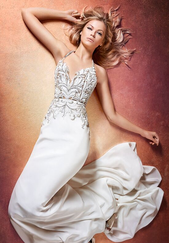 Hayley Paige Edie 6659 Sheath Wedding Dress