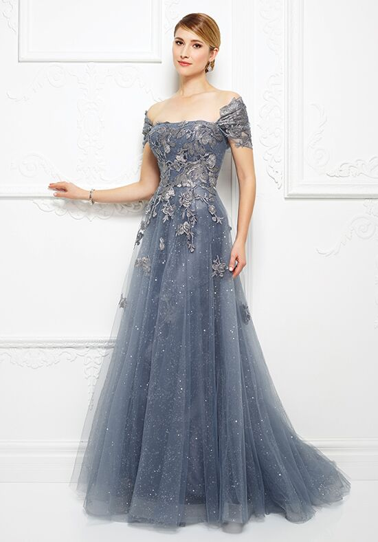 Ivonne D. 217D88 Blue Mother Of The Bride Dress