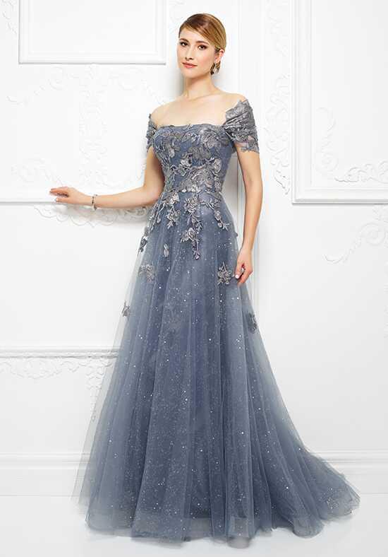 Ivonne D 217d88 Blue Mother Of The Bride Dress