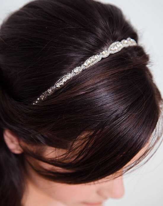 Davie & Chiyo | Hair Accessories & Veils Belise Headband Ivory, Silver Headband