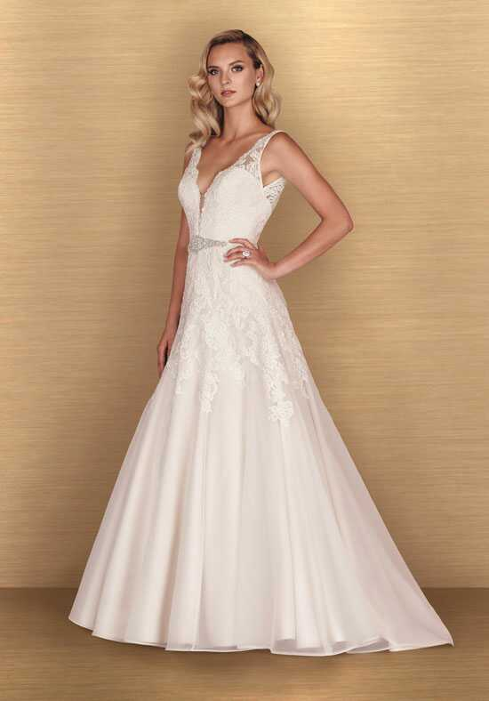 Paloma Blanca 4650 A-Line Wedding Dress