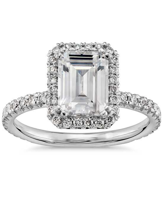 Blue Nile Studio Emerald Cut Engagement Ring