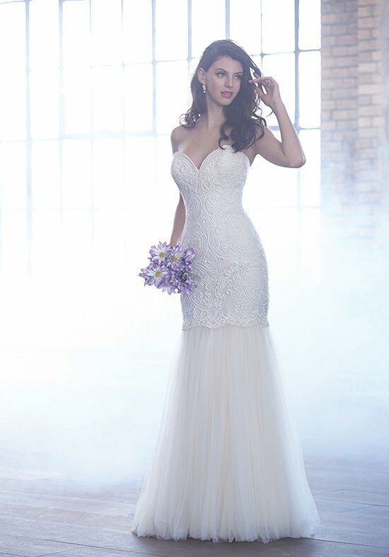 Madison James MJ161 Sheath Wedding Dress