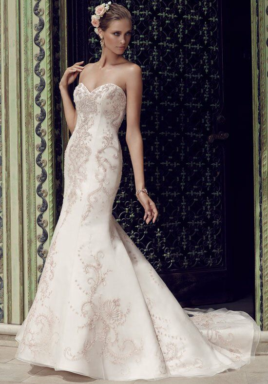 Casablanca Bridal 2189 Mermaid Wedding Dress