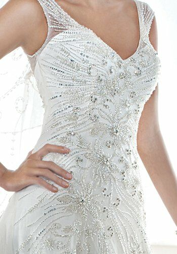 Demetrios 543 A-Line Wedding Dress