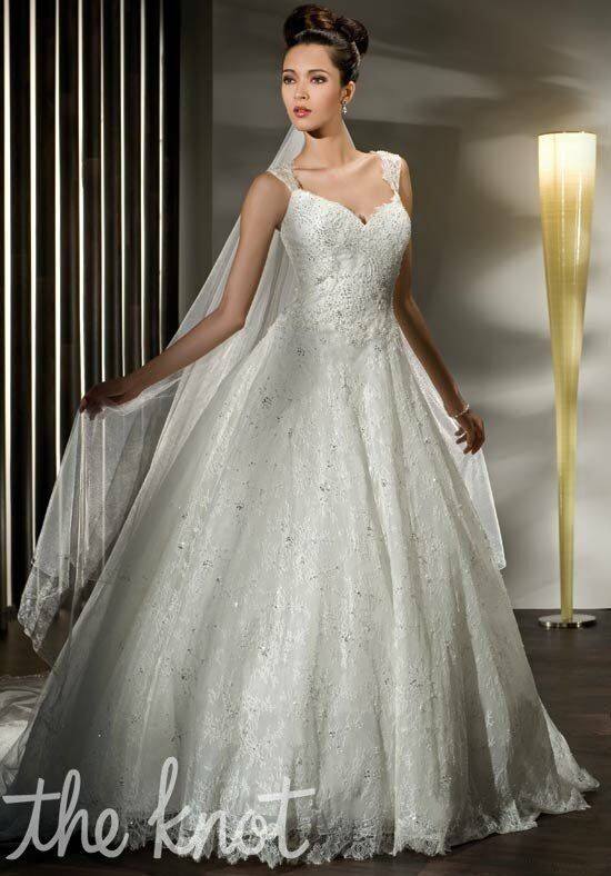 Demetrios 1433 A-Line Wedding Dress