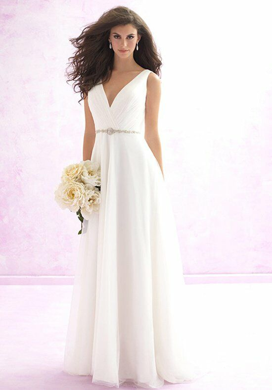 Madison james mj115 wedding dress the knot for Wedding dresses the knot