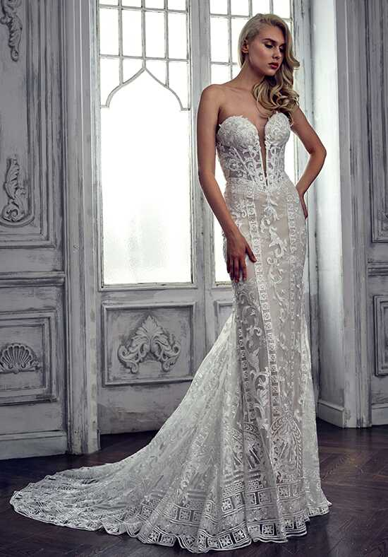 Calla Blanche 17117(AS) Audrey Sheath Wedding Dress
