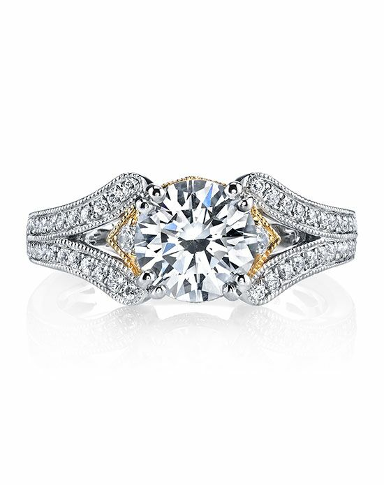 MARS Fine Jewelry Round Cut Engagement Ring