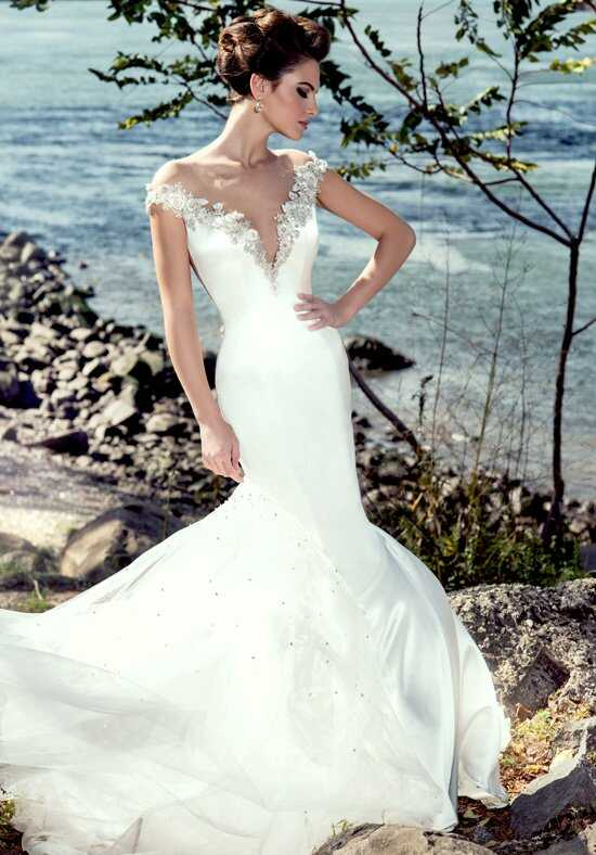 Stephen Yearick KSY82 Sheath Wedding Dress