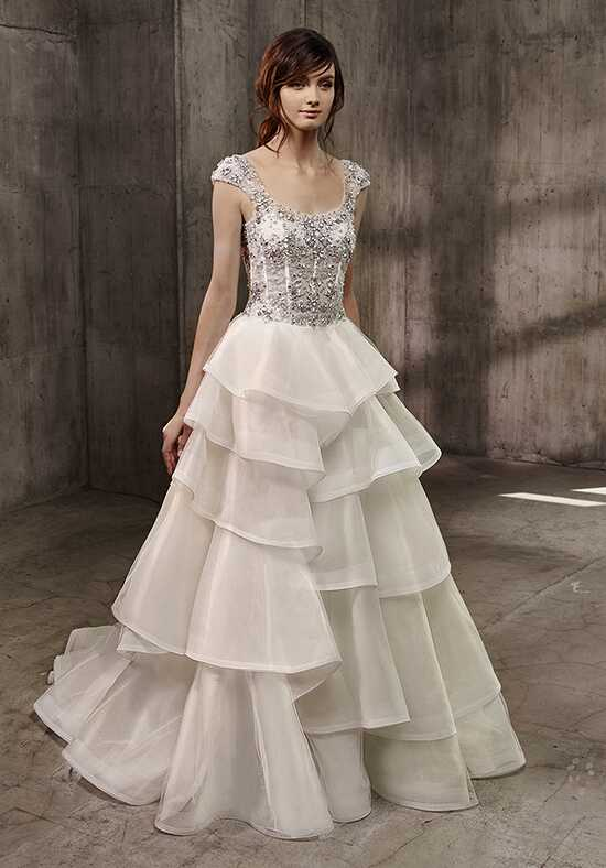 Badgley Mischka Belle Avril-BD A-Line Wedding Dress