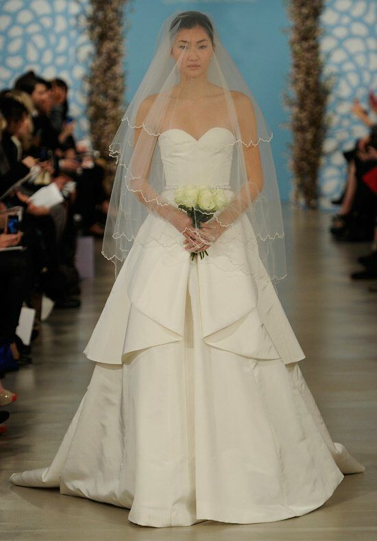 Oscar de la Renta Bridal 2014 Look 15 Ball Gown Wedding Dress