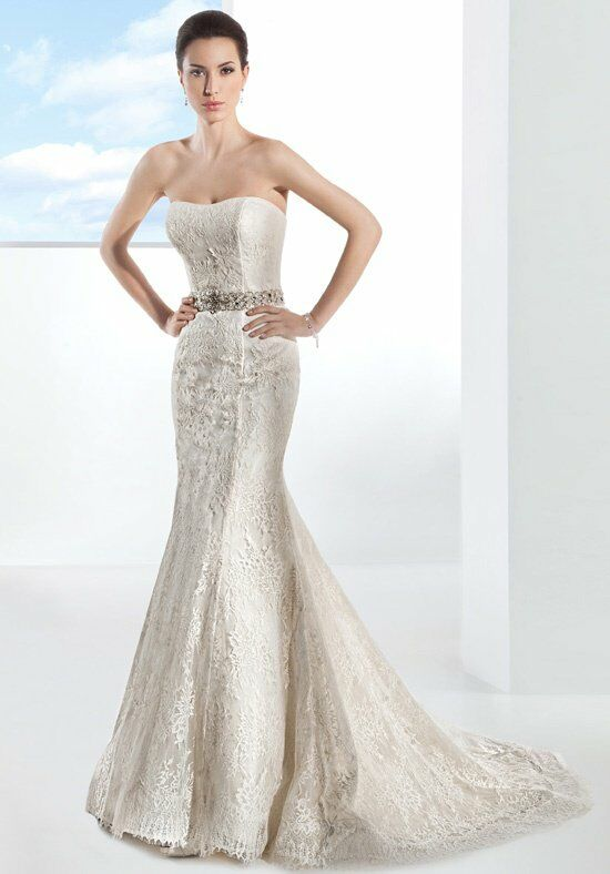 Demetrios 1474 Mermaid Wedding Dress