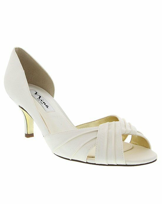 Nina Bridal Wedding Accessories CULVER_IVORY Shoe