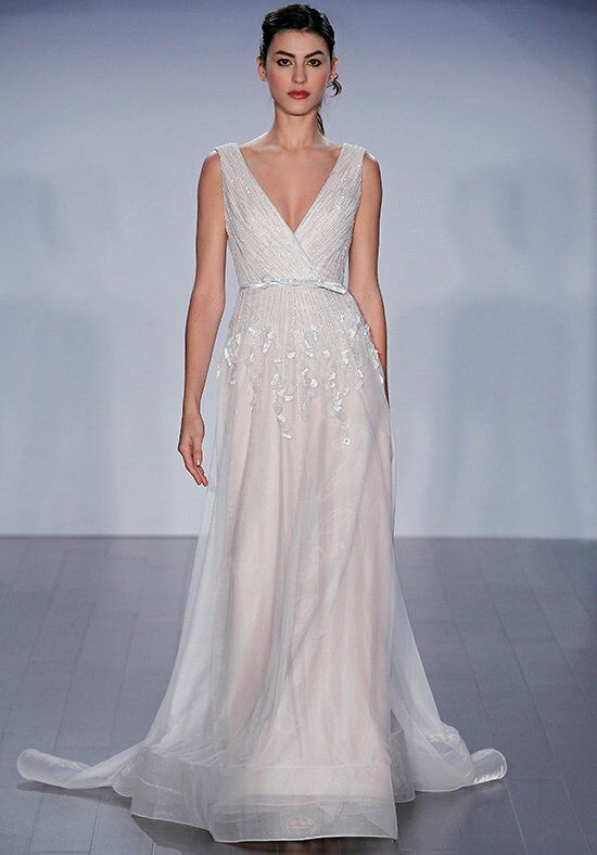 Jim Hjelm 8505 A-Line Wedding Dress
