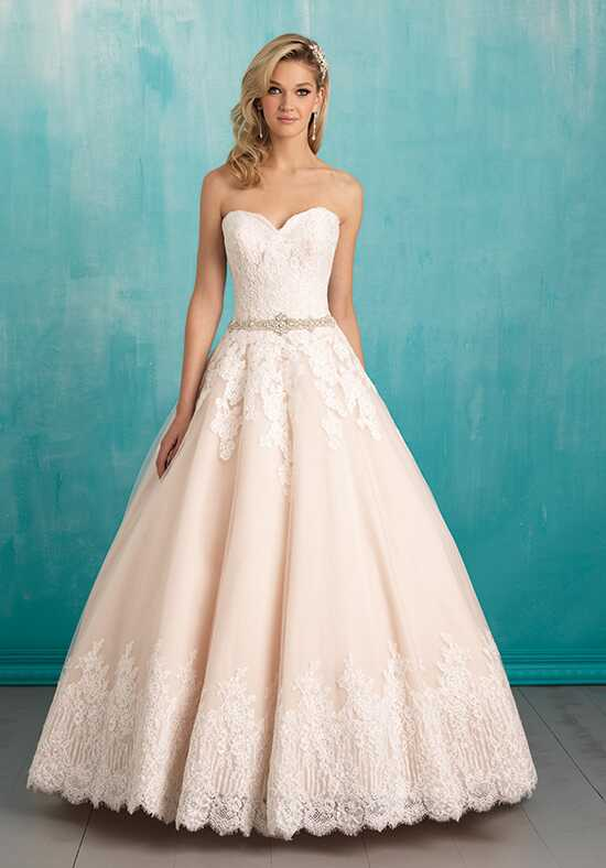 Allure Bridals 9319 Ball Gown Wedding Dress