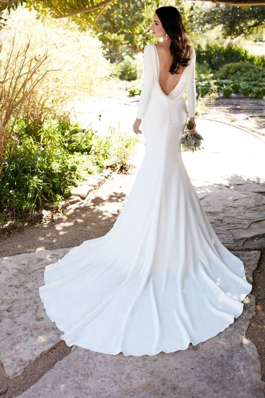 Martina Liana 791 Sheath Wedding Dress