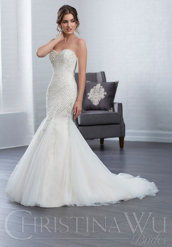 Christina Wu 15652 Mermaid Wedding Dress
