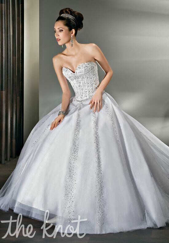 Demetrios 521 Ball Gown Wedding Dress