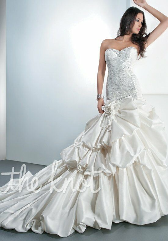 Demetrios 4309 Mermaid Wedding Dress
