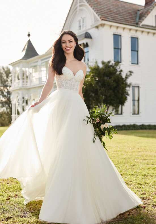 Martina Liana Circe + Sawyer A-Line Wedding Dress
