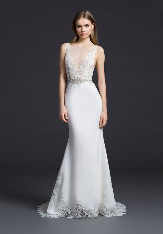 Lazaro 3655 Sheath Wedding Dress