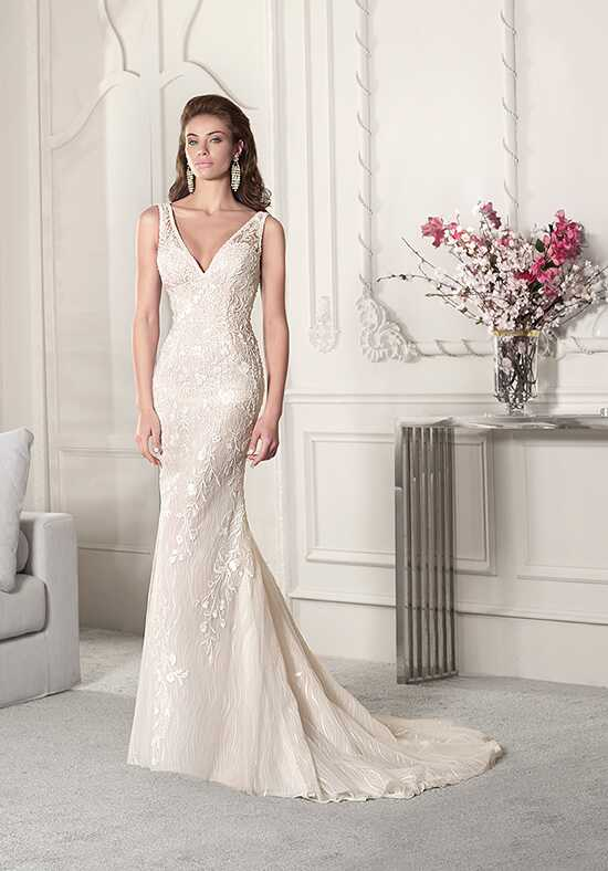 Demetrios 855 Sheath Wedding Dress