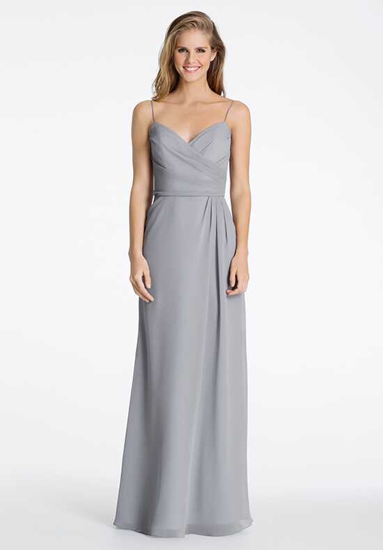 Hayley Paige Occasions 5603 V-Neck Bridesmaid Dress