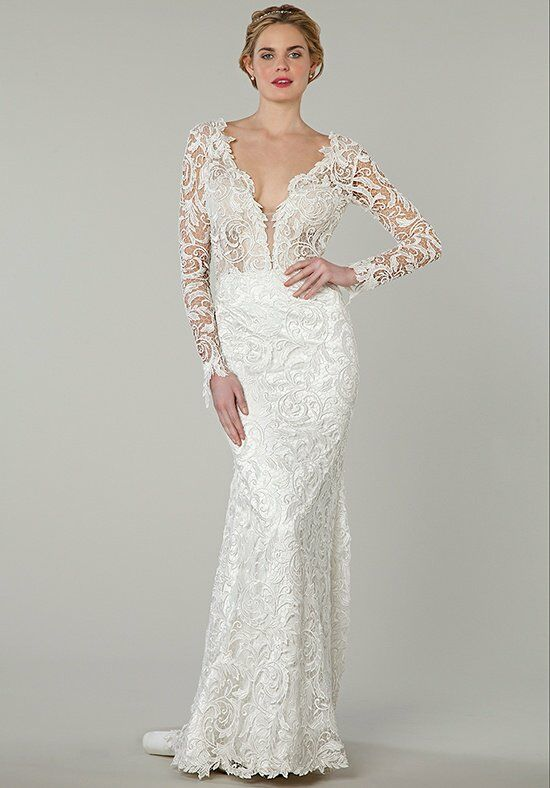 Pnina Tornai for Kleinfeld 4339 Sheath Wedding Dress