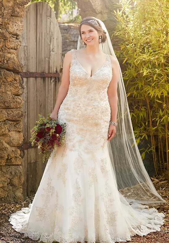 Essense of Australia D2399 Mermaid Wedding Dress