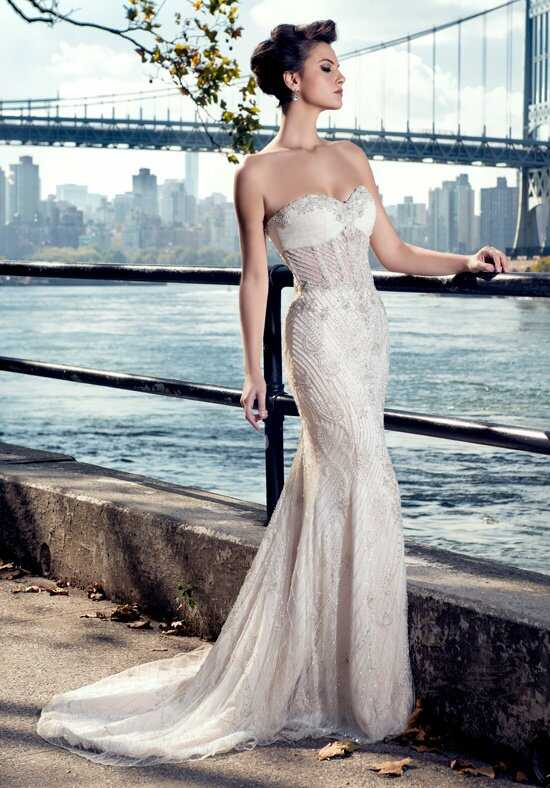 Stephen Yearick KSY75 Sheath Wedding Dress