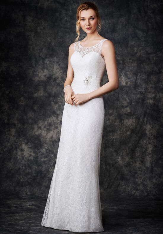 Kenneth Winston: Gallery Collection GA2266 Sheath Wedding Dress