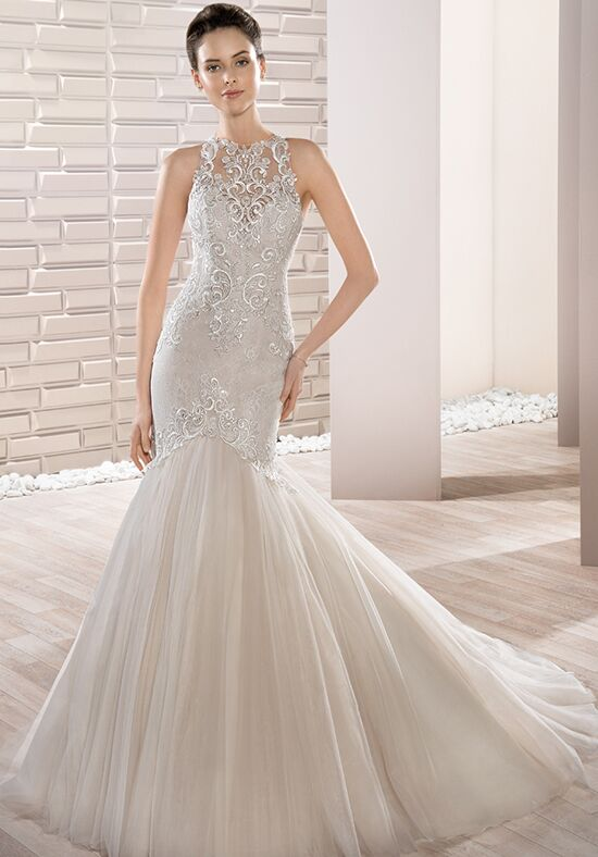 Demetrios 706 Mermaid Wedding Dress